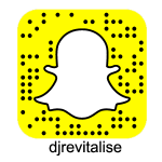 Revitalise Snapchat Logo Black text